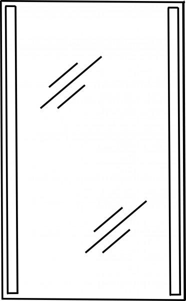 Strichzeichnung Flächenspiegel G
