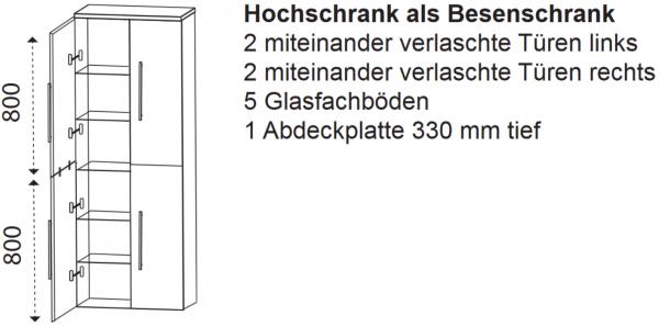 Hochschrank F