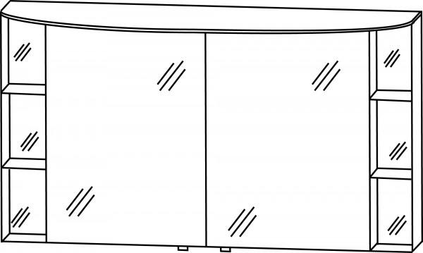 Strichzeichnung Laguna Spiegelschrank E1 Joy