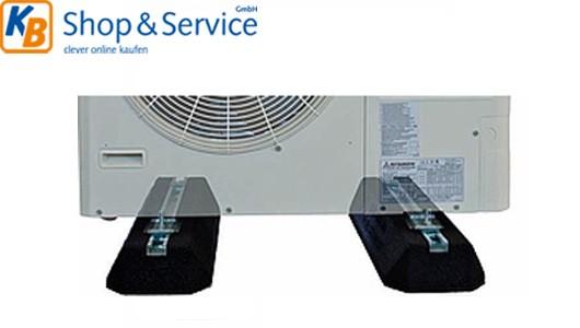 Dämpfungssockel Außengerät Klimaanlage