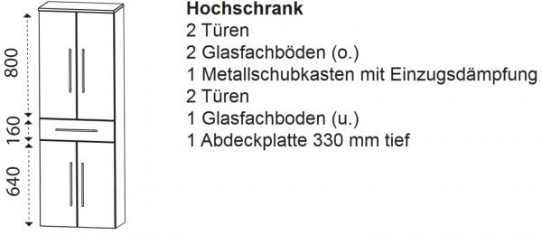 Laguna Hochschrank H