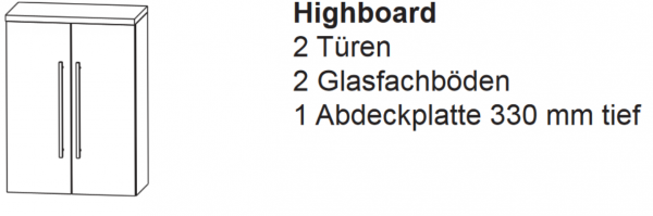 Highboard E