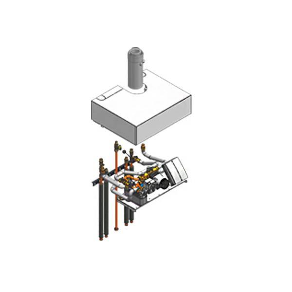 Viessmann Aufbau-Kit mit Mischer Vitodens 222-F