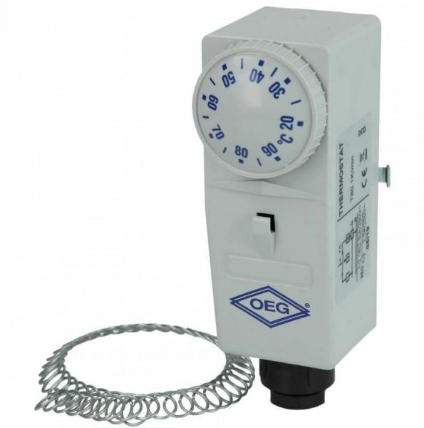 OEG Anlegethermostat BRC-A außenliegende Verstellung