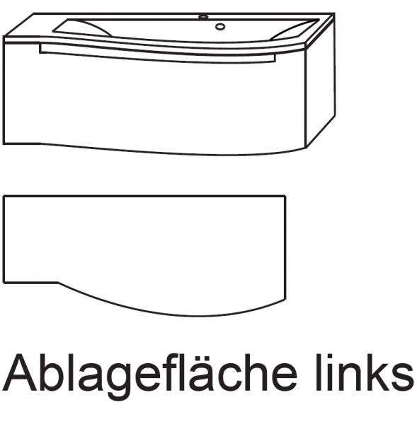 """Laguna Waschtisch A """"912 mm breite"""" Brio"""