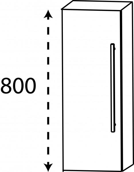 Strichzeichnung Laguna Oberschrank D links