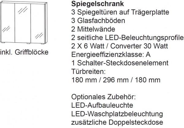 Laguna Spiegelschrank B Facto