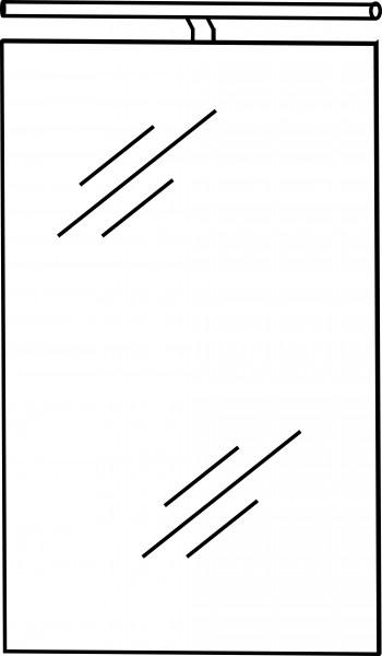 Strichzeichnung Flächenspiegel F