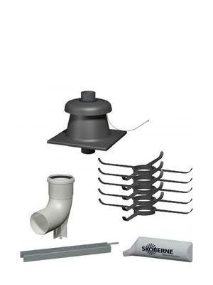 Viessmann Basispaket Schacht für doppelzügige Schornsteine DN60 (Art.Nr.:2b-7502679)