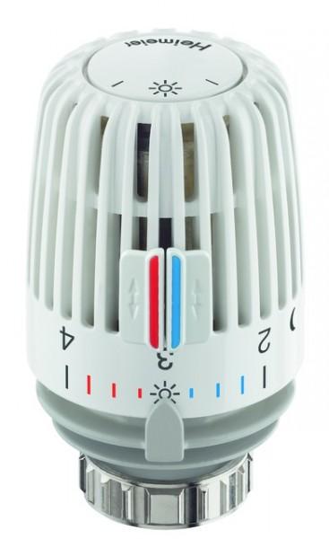 Heimeier Thermostatkopf K weiss mit Nullstellung