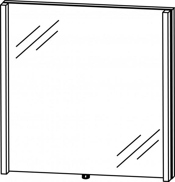 Strichzeichnung Flächenspiegel C