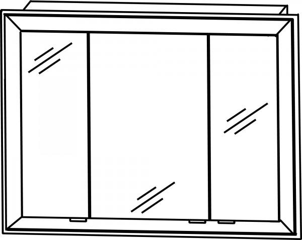 Strichzeichnung Laguna Einbauschrank B