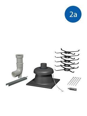 """Viessmann Basispaket Schacht """"flexibel"""" DN60 (Art.Nr.: 2a-7248206)"""