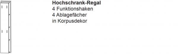 Laguna Hochschrank-Regal C