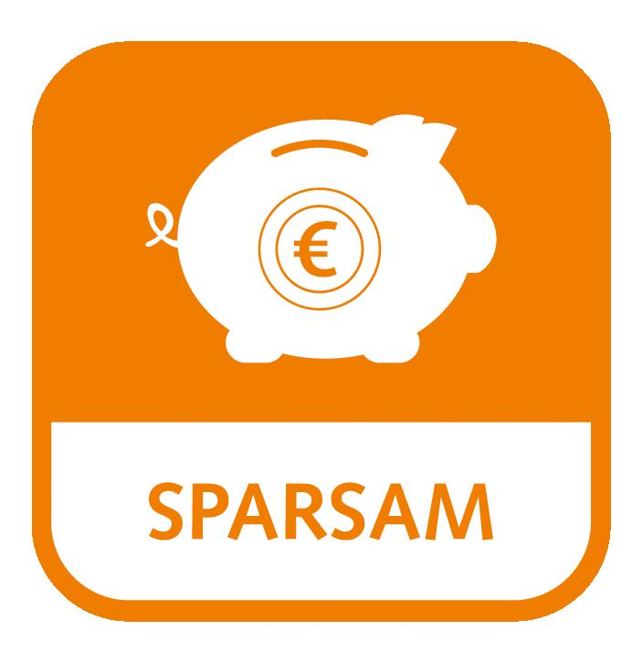 Icon-Sparsam